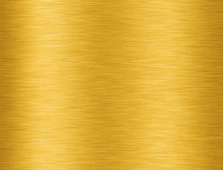 Golden aluminium texture with reflection for background