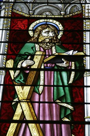 Christian Stained Glass  Imagens