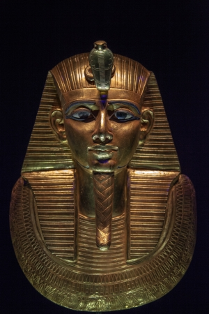 One of the masks of Tutankhamun - original mask