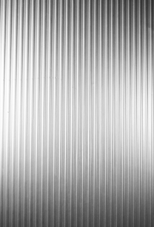 treadplate: Metal plate with vertical lines Stock Photo