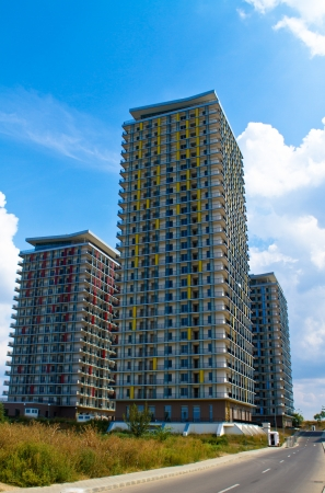 bucarest: Complexe d'immeubles d'appartements � Bucarest, Roumanie