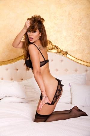 Sexy girl in her underwear