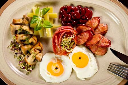 Gourmet energizing breakfast photo