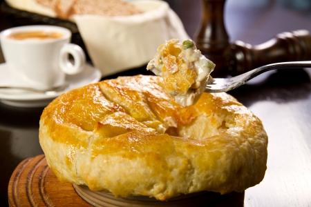 shepards: Freshly baked irish pie Stock Photo