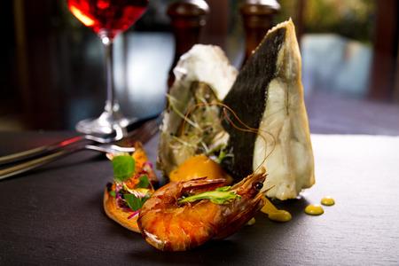 Gourmet dish Stock Photo