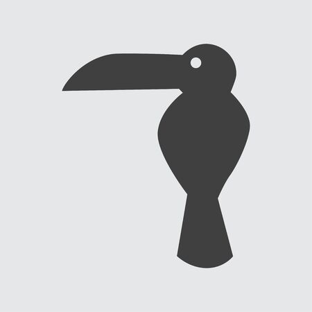 toucan: Toucan icon illustration isolated vector sign symbol