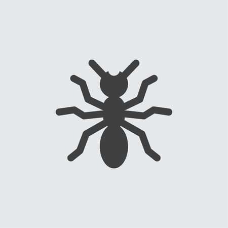 Spider icon illustration isolated vector sign symbol Illustration