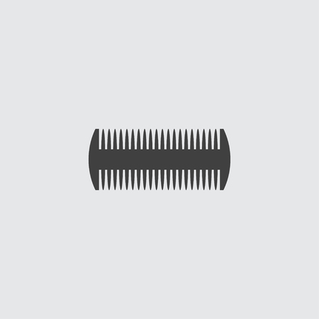 Comb icon illustration isolated vector sign symbol