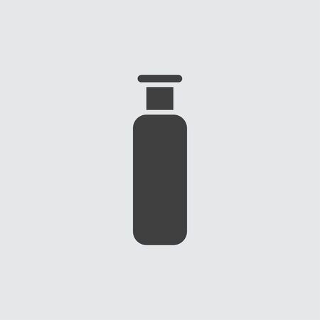 spray bottle: Spray bottle icon illustration isolated vector sign symbol