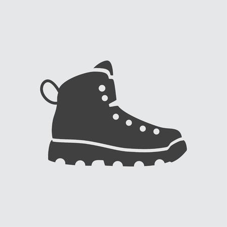 Boot icona segno vettoriale isolato simbolo