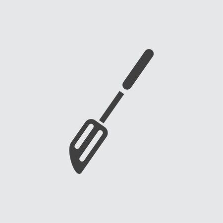 spatula: Spatula icon illustration isolated vector sign symbol Illustration