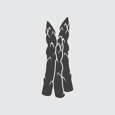 Asperges illustratie geïsoleerde vector symbool teken