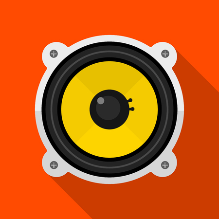 Speaker icon illustration isolated vector sign symbol