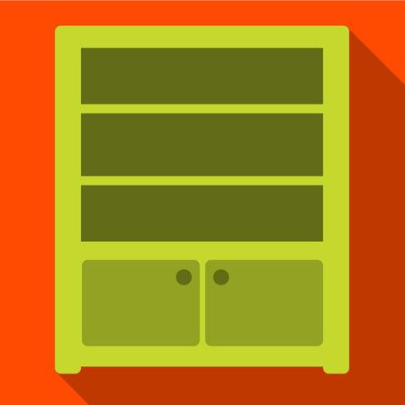 sideboard: Sideboard flat icon illustration isolated vector sign symbol Illustration