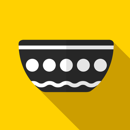 Bowl icon illustration isolated vector sign symbol