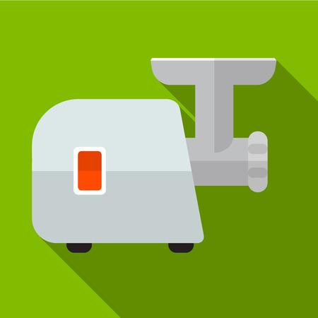 meat grinder: Meat grinder flat icon illustration isolated vector sign symbol