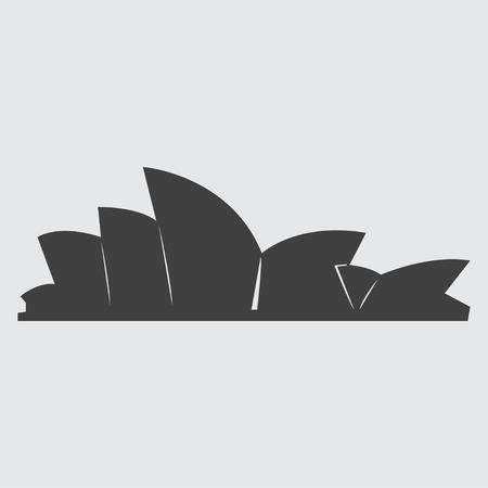 Sydney Opera House icon illustration isolated vector sign symbol Vector Illustration