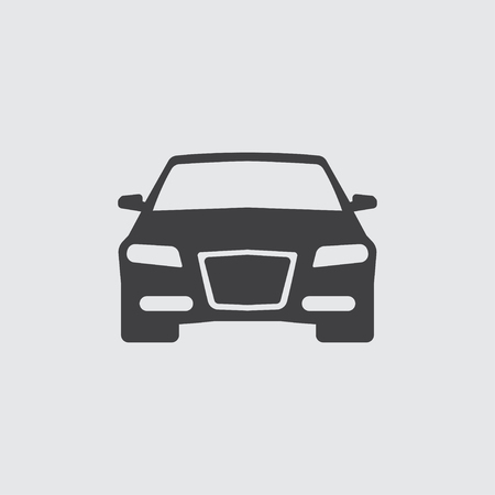 car isolated: Car icon illustration isolated vector sign symbol Illustration