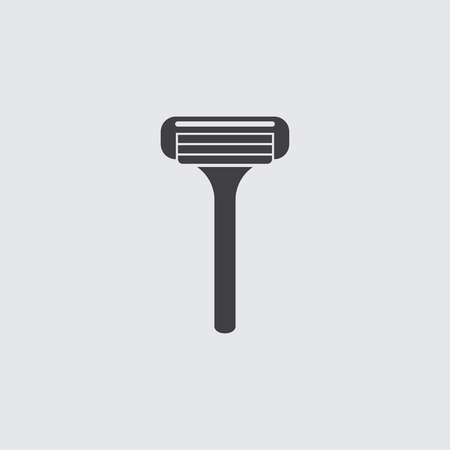 shaver: Shaver icon illustration isolated vector sign symbol