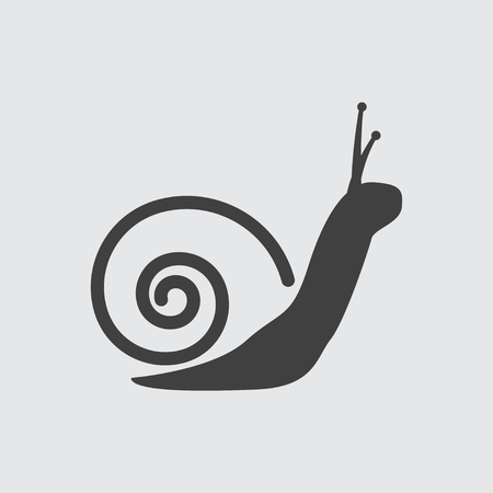 Snail icon illustration isolated vector sign symbol