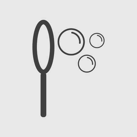 blower: Bubble blower icon illustration isolated vector sign symbol