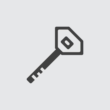Key icon illustration isolated vector