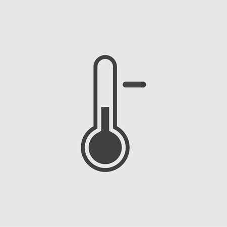 Temperature icon illustration isolated vector