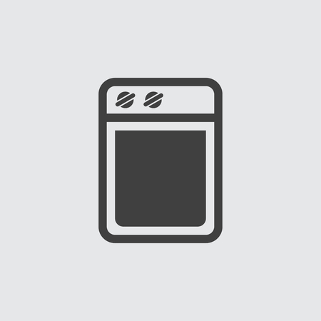 Cooker icon illustration isolated vector