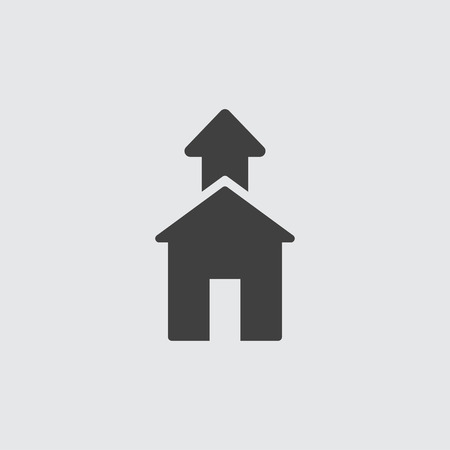 Home icon illustration isolated vector