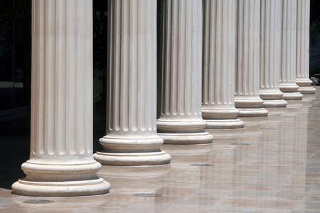 doric: Greek doric columns