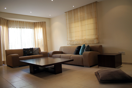 Living room with modern coffee table and sofa Stock Photo - 1431303