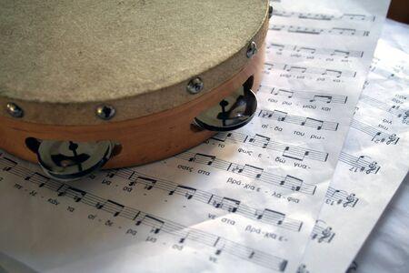 tambourine: tamburello Archivio Fotografico