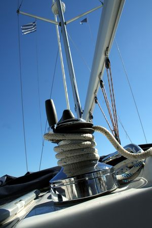 corded: Yacht detail