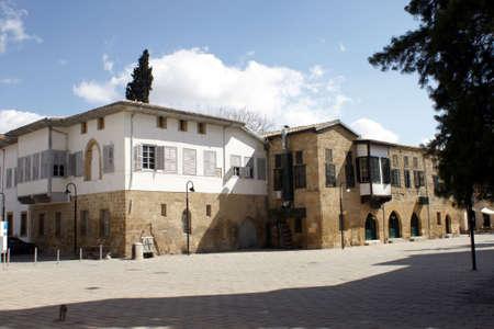 occupied: Old Nicosia neighborhood - Cyprus (Occupied area)
