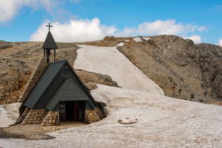 julian: Beautiful views of church, Triglav National Park - Julian Alps, Slovenia