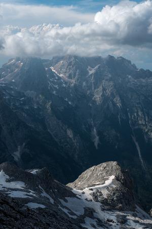 Beautiful views of Triglav National Park - Julian Alps, Slovenia