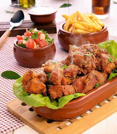 Chicken - Traditional Brazilian Fried Chicken