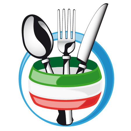 facture restaurant: Coutellerie italienne