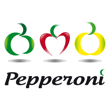 kilos: Abstract pepperoni
