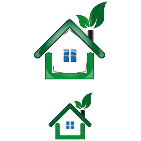 utility: House utility sustainable environment Illustration