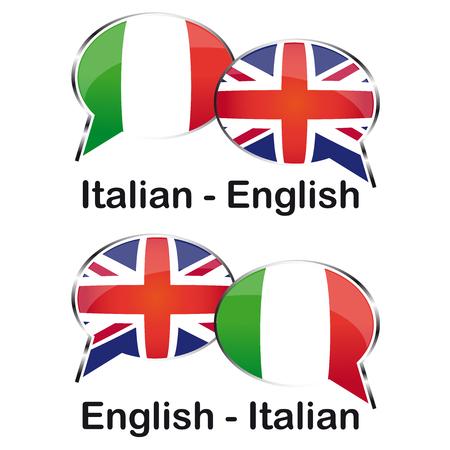translator: Italian Inglese translator cloud