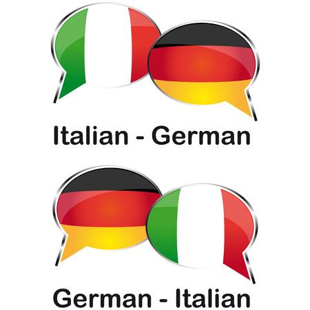 Italian german translator cloud