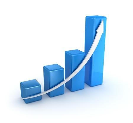 ビジネスのグラフ