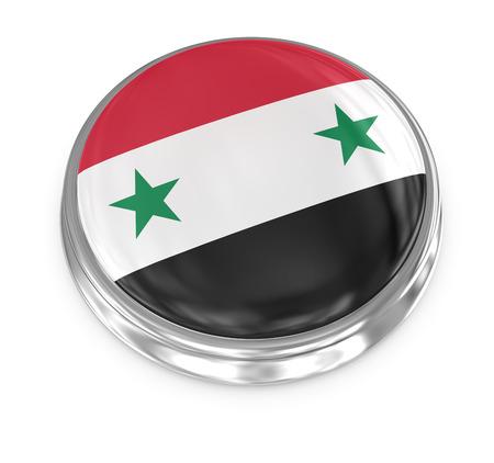 computer generated image: Siria distintivo, immagine generato dal computer. Rendering 3D.