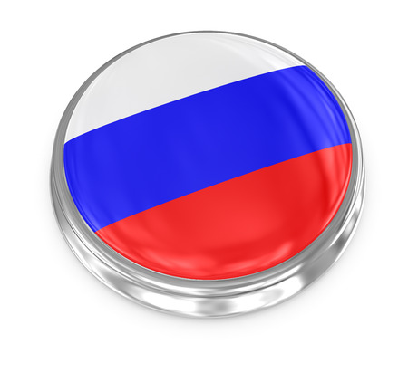 Russia badge , computer generated image. 3d render.