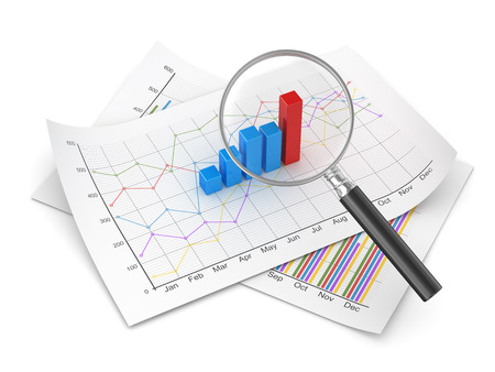 Finance concept , computer generated image. 3d rendered image. Stock Photo