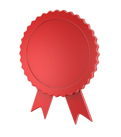Blank badge , computer generated image. 3d rendered image.