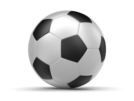 Soccer ball , computer generated image. 3d rendered image.