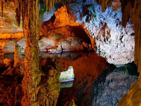 Neptune's grotto (Grotta di Nettuno), Capo Caccia, Alghero, Sardinia.