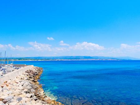 Sea view in Fertilia, Alghero.